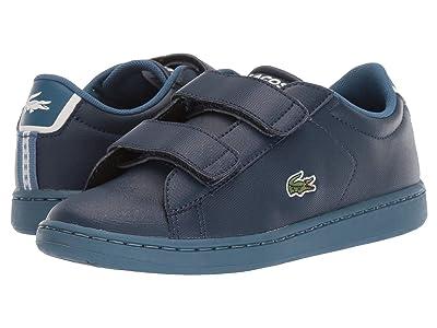 Lacoste Kids Carnaby Evo Strap 119 1 SUC (Little Kid) (Navy/Blue) Kid