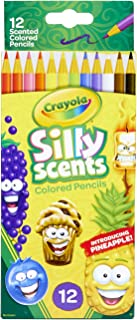 Crayola Silly Scents Scented Colored Pencils, Gift for Kids, 12ct