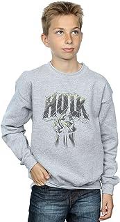 Marvel niños Hulk Punch Logo Camisa De Entrenamiento