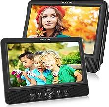WONNIE 10.5 '' Double Lecteur DVD Portable Voiture 1024 * 600 avec de Puissants..