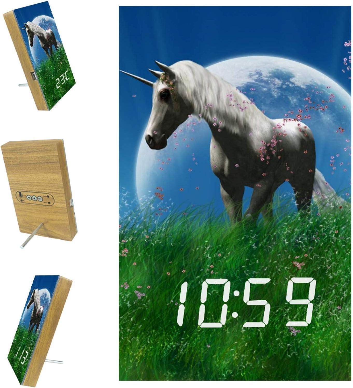 DEYYA Digital LED Clock Snooze Regular discount Operat Alarm Save money Modern Battery