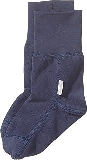 Calcetín de lana, Edad: 4-5 Años, Talla: 28, Azul oscuro (Marino)