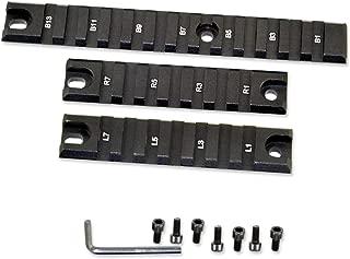 Sniper Model G36 Set of 3 Picatinny/Weaver Accessory Rails (Left 7 Slots, Right 7 Slots, Bottom 13 Slots)