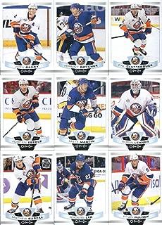 2019-20 O-Pee-Chee Hockey New York Islanders Team Set of 17 Cards: Josh Bailey(#18), Johnny Boychuk(#59), Cal Clutterbuck(#70), Jordan Eberle(#84), Matt Martin(#92), Robin Lehner(#106), Mathew Barzal(#109), Anders Lee(#117), Ryan Pulock(#187), Brock Nelson(#198), Thomas Greiss(#226), Casey Cizikas(#233), Nick Leddy(#270), Anthony Beauvillier(#283), Leo Komarov(#416), Thomas Hickey(#467), Andrew Ladd(#491)