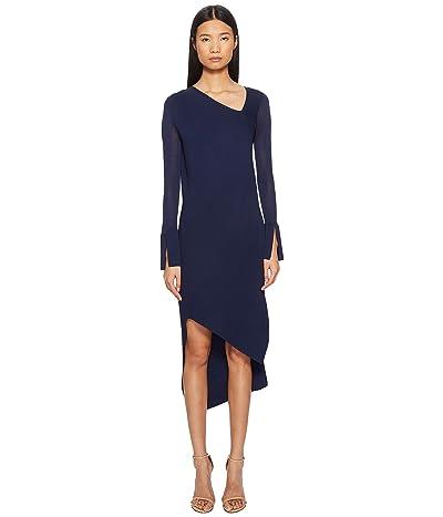 Neil Barrett Spiral Tech Knit Dress (Blue) Women