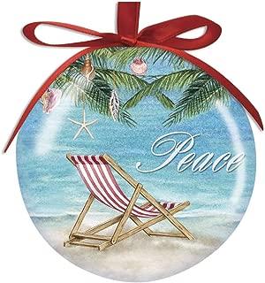 Cape Shore Shell Tree Peace High Gloss Resin Ornament