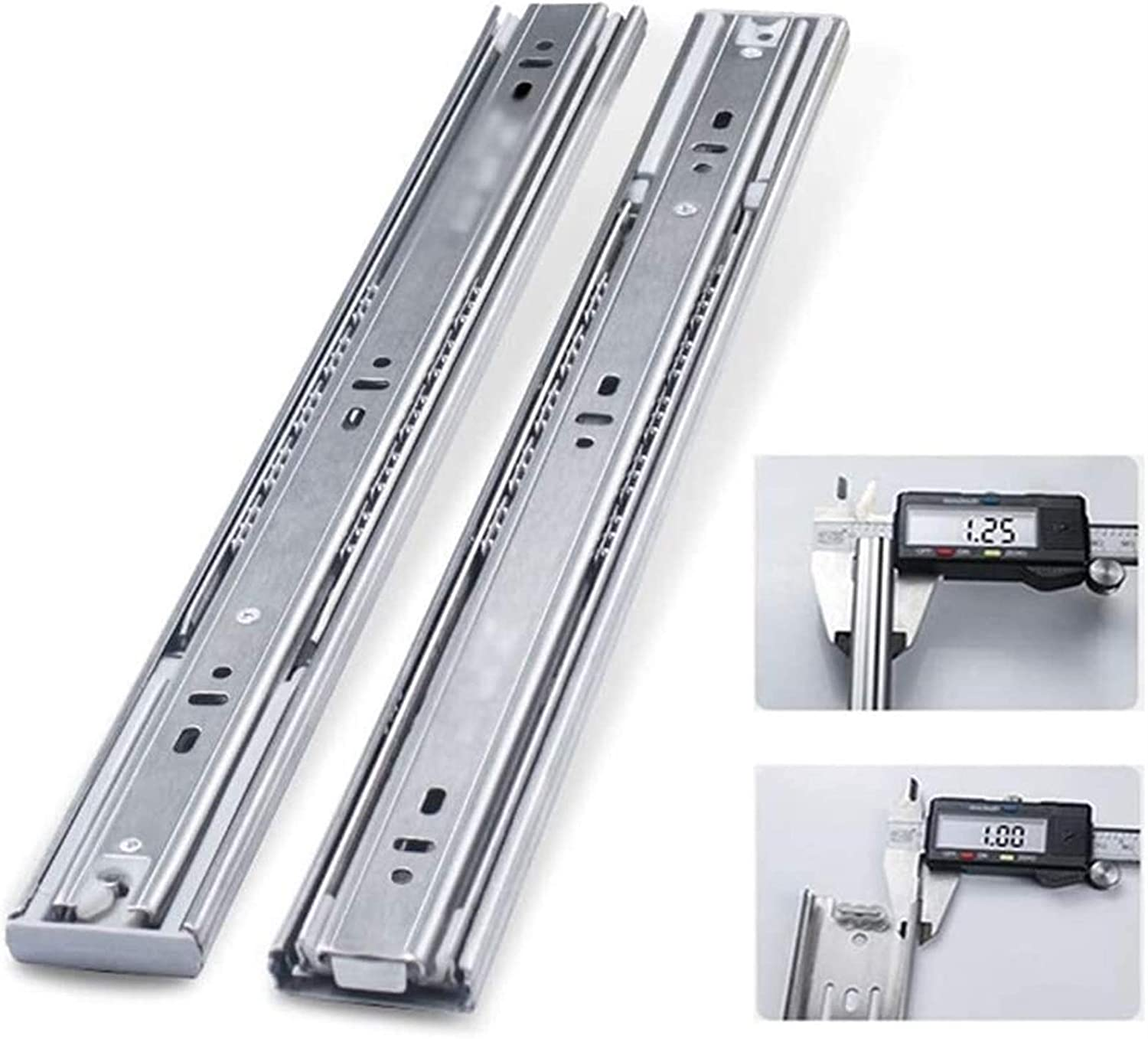 YDSHOLL Heavy-Duty Max 48% OFF 70kg Drawer Runners National uniform free shipping Fully Fold 3 Extended Ba