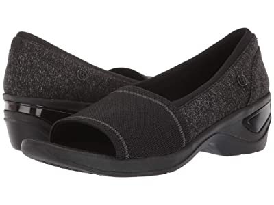 Bzees Kudos (Black Mixed Texture Fabric) Women