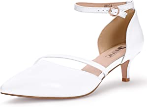 Amazon.com: Dress White Heels