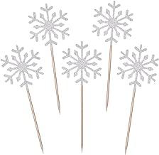 Best snowflake cupcake decorations Reviews