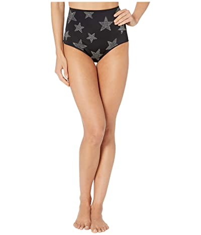 Stella McCartney Studded Stars High-Waist Bikini (Black) Women