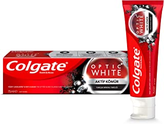 Colgate Toothpaste Optic White Charcoal 75 Ml