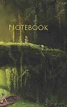 Notebook: fantasy mysticism bridge boat magic composing magician fairy tales fairies tale mystery