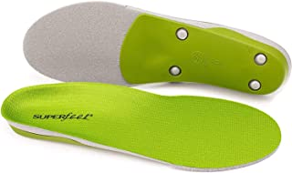 SUPER feet ワイドサイズ [ TRIM FIT GREEN WIDE ] スーパーフィート インソール トリムフィット グリーン ワイド 正規品 (06:F (29.0~30.)