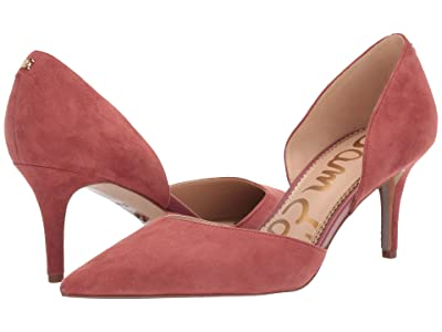 Sam Edelman Jaina (Rosewood Suede Leather) Women
