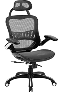 Ergonomic Mesh Office Chair, ZLHECTO Desk Chairs Passes BIFMA, High Back Computer Chairs with Adjustable Backrest, Headres...