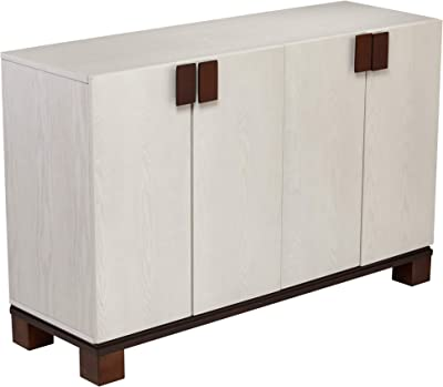 SEI Furniture Surbiton Cabinet, Whitewashed