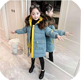 Surprise S Girls Winter Coats Cartoon Children Coat with Hooded Teenage Warm Jackets for Kids