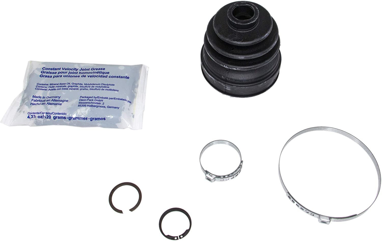 Rein Automotive BKN0115 Max 63% OFF Sale Special Price CV Joint Front Kit Boot Inner