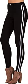 Best black jeans with yellow stripe Reviews