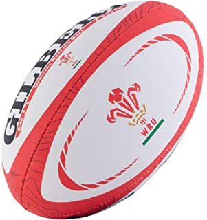 Gilbert Wales International Replica Rugby Ball Size 5