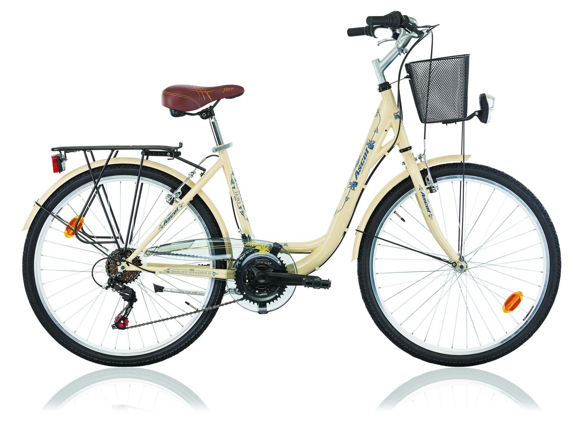 Frank Bikes - Bicicleta de paseo (18 velocidades, 26