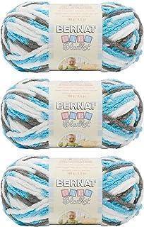 Bernat Bulk Buy Baby Blanket Yarn (3-Pack) (#161103-3738-sail-away)