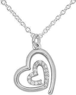 Hallmark Jewelry Women's Sterling SilverCubic Zirconia...