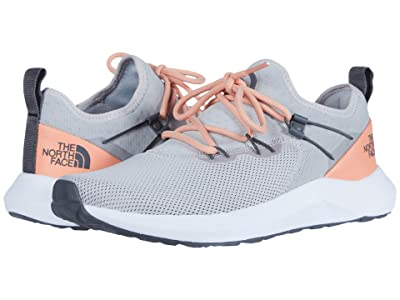 The North Face Surge Highgate (Spackle Grey/Cantaloupe) Women