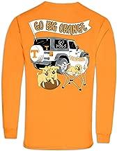 Tennessee Volunteers Jeep Go Big Orange Cotton Long Sleeve T-Shirt