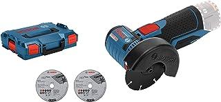 Bosch Professional 12V System sladdlös vinkelslip GWS 12V-76 (3 kapskivor, skivdiameter: 76 mm, utan batterier och laddare...
