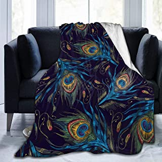 Best peacock feather throw blanket Reviews