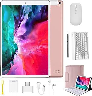 Tablet 10.1 Pulgadas 4G Android 9.0 Quad Core DUODUOGO P8 Tablet Baratas 4GB RAM 64GB ROM/128GB Escalables 8000mAh Dual SI...