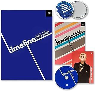 SUPER JUNIOR 9th Special Version Album - [ TIMELINE ] CD + Photobook + Accordion Flyer + FREE GIFT / K-POP Sealed