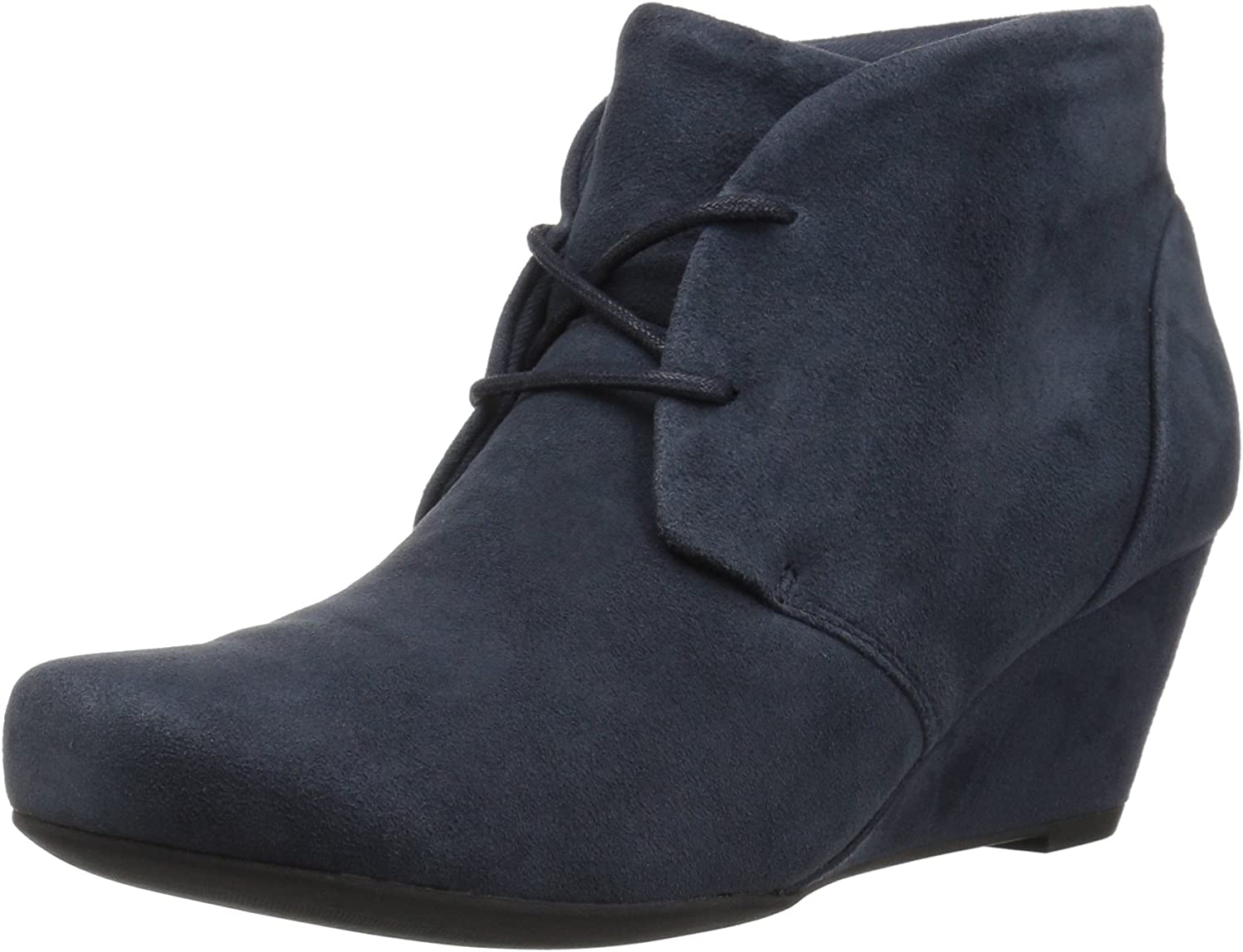 Clarks Women's Flores pink Ankle Boot