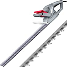 NETTA Hedge Trimmer and Cutter - 600W - 55cm Diamond Cutting Blade - 16mm Tooth Opening - 10M Power Cable - Ultra-Light 2....
