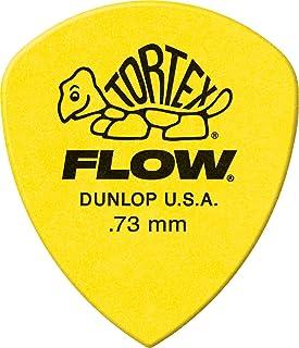 Jim Dunlop Tortex Flow Standard 72 Pack .73mm Yellow