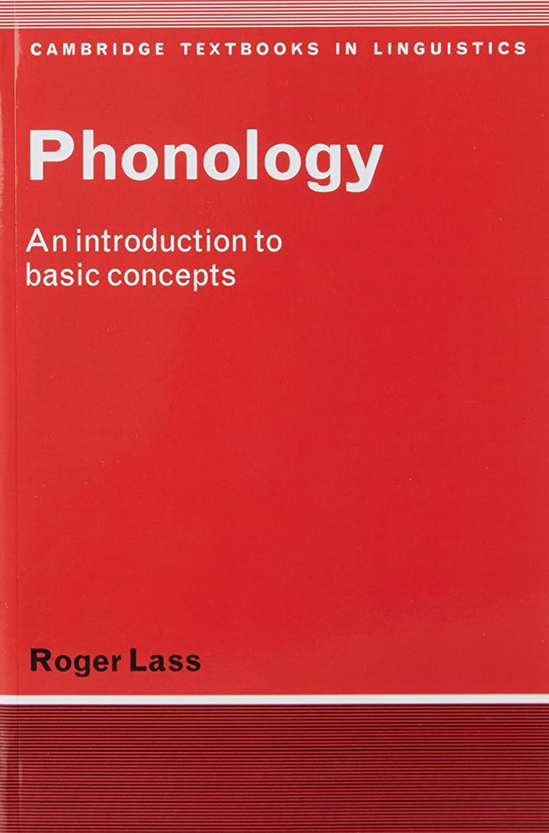ひいきにする支援プレミアPhonology: An Introduction to Basic Concepts (Cambridge Textbooks in Linguistics)