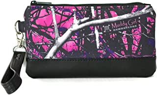 Muddy Girl Camo Wristlet Cell Phone Purse