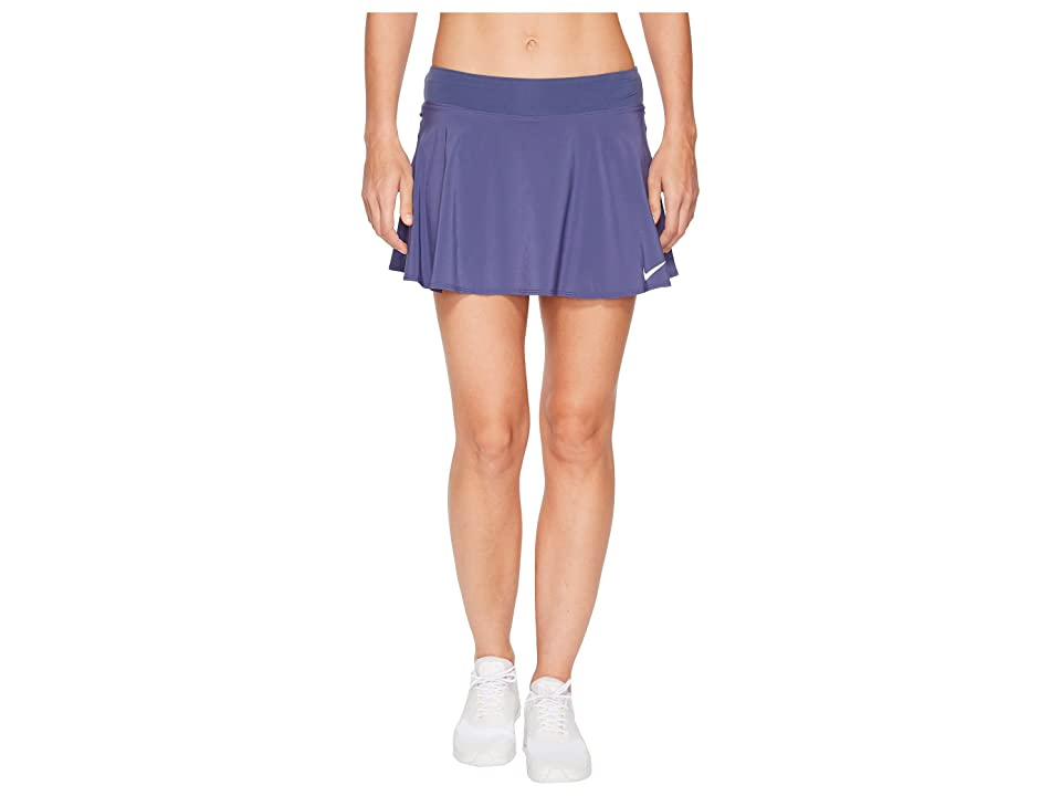 Nike Nike Court Flex Pure Tennis Skirt (Blue Recall/White) Women