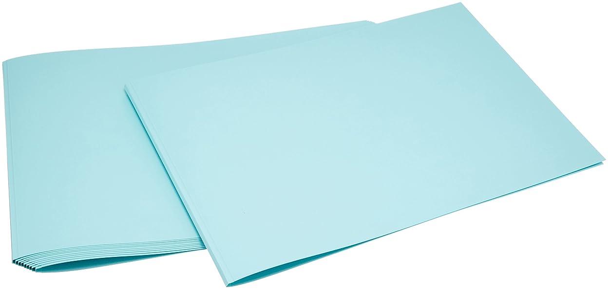 適応する里親アパートとじ太くん とじ太くん専用製本カバー全面紙ブルーカバーA4ヨコ 3mm