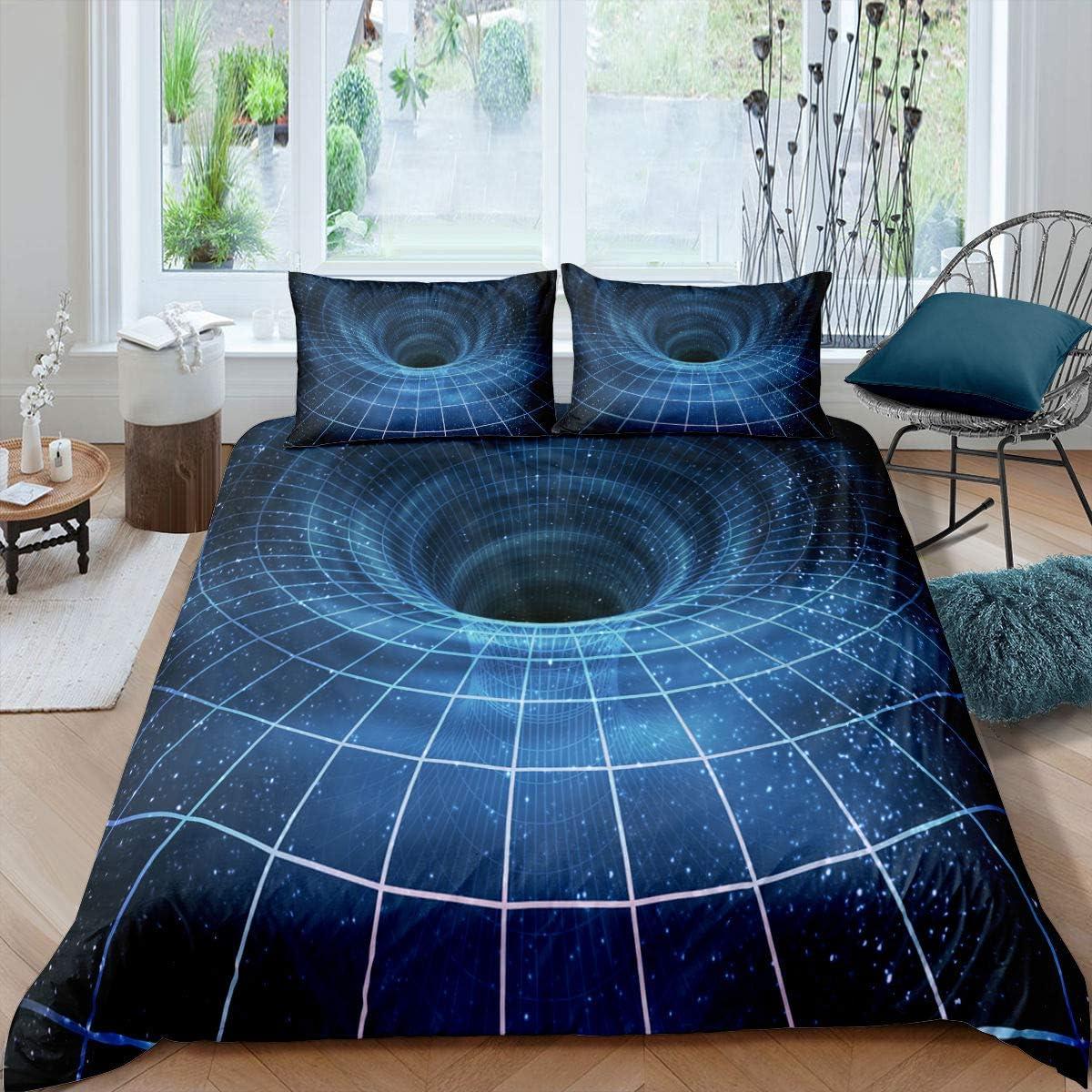 Erosebridal 買収 在庫あり Meridian Donut Duvet Cover Geometric Vor Bedding Set