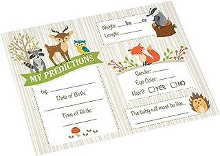 بطاقات التنبؤ بالمولود الجديد من ليليان روز، مقاس 13.97 سم × 10.79 سم