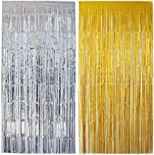 21722 91cm x 244 cm Wei/ß Smiffys Schimmernder Regenbogen Vorhang