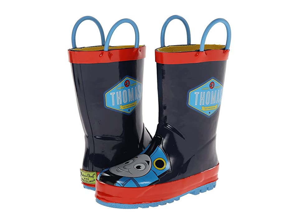 Western Chief Kids Thomas Blue Engine Rainboot (Toddler/Little Kid/Big Kid) (Navy) Boys Shoes