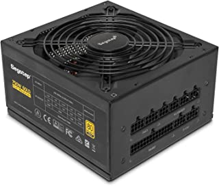 Segotep Power Supply, GP Series 80 Plus Gold Certified PSU Gaming Power Supply with Silent 140mm Fan (750W, Fully-Modular)