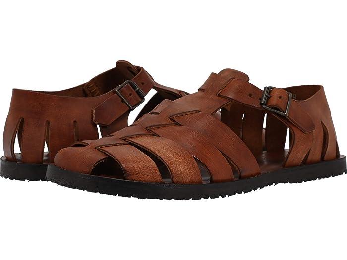 1930s Men's Summer Clothing Guide Massimo Matteo Fisherman Sandal Mens Shoes $119.00 AT vintagedancer.com