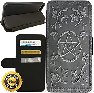 Flip Wallet Case for iPhone 7 (Ultimate Book of Spells) with Adjustable Stand and 3 Card Holders | Shock Protection | Lightweight | by Innosub