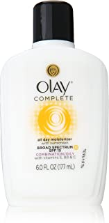 Olay Complete All Day Moisturizer with Sunscreen Broad Spectrum SPF 15, 6 Fluid Ounce