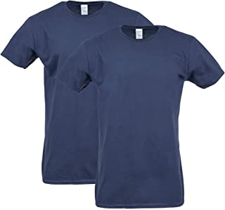 Gildan Men's Softstyle Cotton T-Shirt, Style G64000, 2-Pack